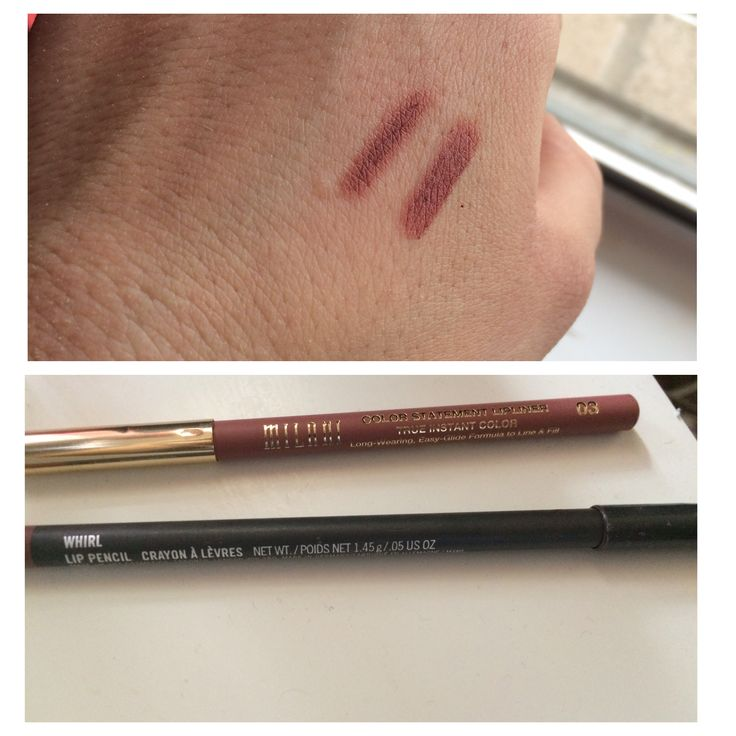 ***DUPE ALERT*** since whirl is always sold out Bc of the famous Kylie Jenner, i found a cheaper and identical lip liner from the drugstore! It's in #03 by MILANI cosmetics! Around $3