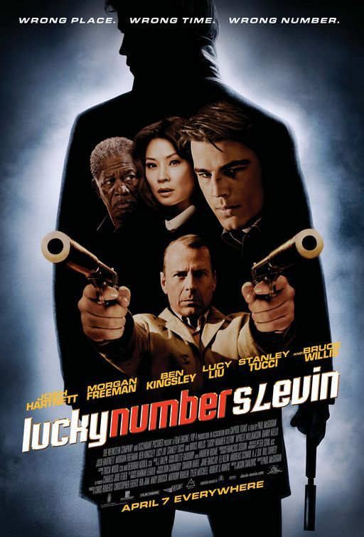 Lucky Number Slevin.  I wish I could touch the wallpapers in this movie.  They're so vivid.