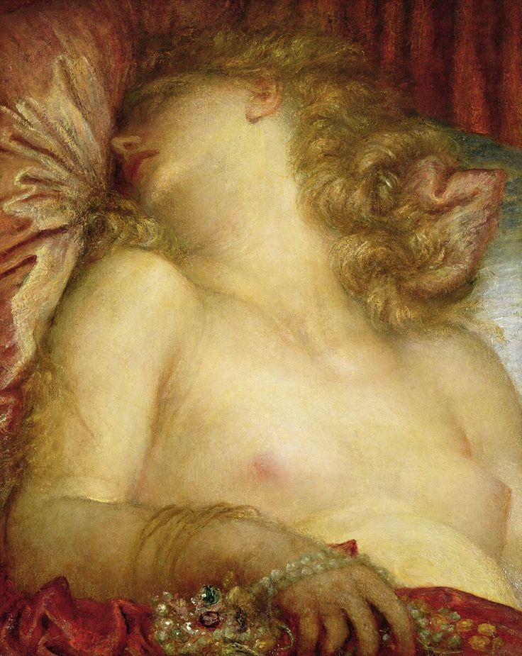 George Frederic Watts, The Wife of Plutus, 1880