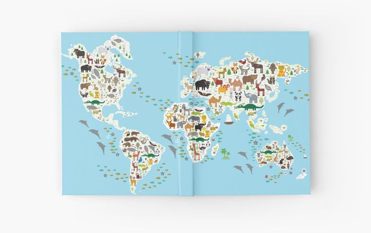 http://www.redbubble.com/people/ekaterinap/works/19276230-animal-world-map?p=hardcover-journal