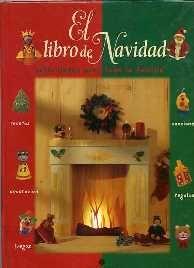 Un libro lleno de ideas navideñas para hacer manualidades en familia