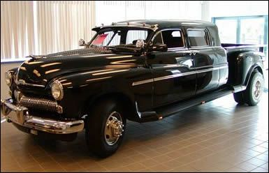 1950 Mercury Custom Crew Cab Truck Maintenance of old vehicles: the material for new cogs/casters/gears/pads could be cast polyamide which I (Cast polyamide) can produce