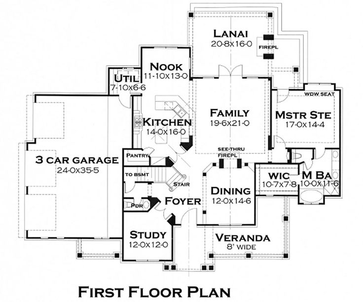 161 best House plans images on Pinterest | House floor plans ...