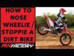 How to Wheelie an Electric Dirt Bike! 2017 Alta Redshift Mx