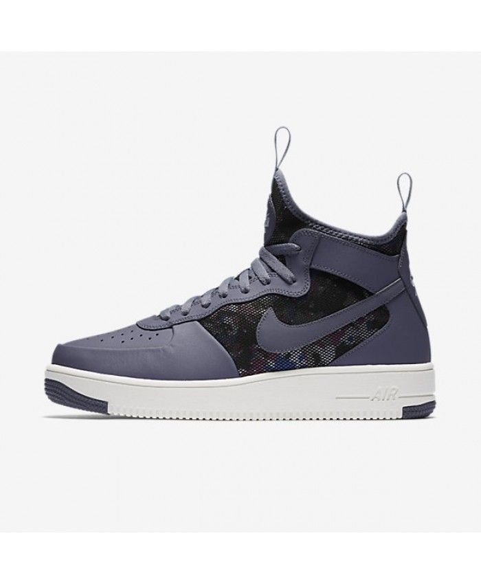 04bf5cfda9e Nike Air Force 1 UltraForce Mid Light Carbon Summit White Light Carbon  864014-005