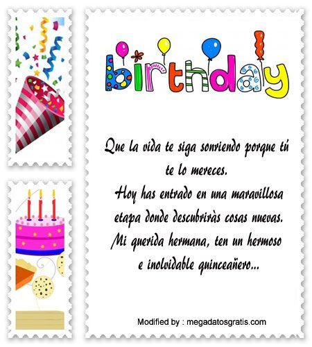 palabras para saludar a quinceañera,saludos para quinceañera para facebook:  http://www.datosgratis.net/palabras-para-felicitar-a-una-quinceanera/