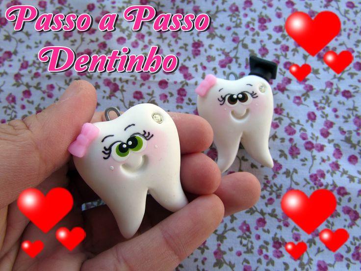 (DIY) PASSO A PASSO DENTINHO EM BISCUIT