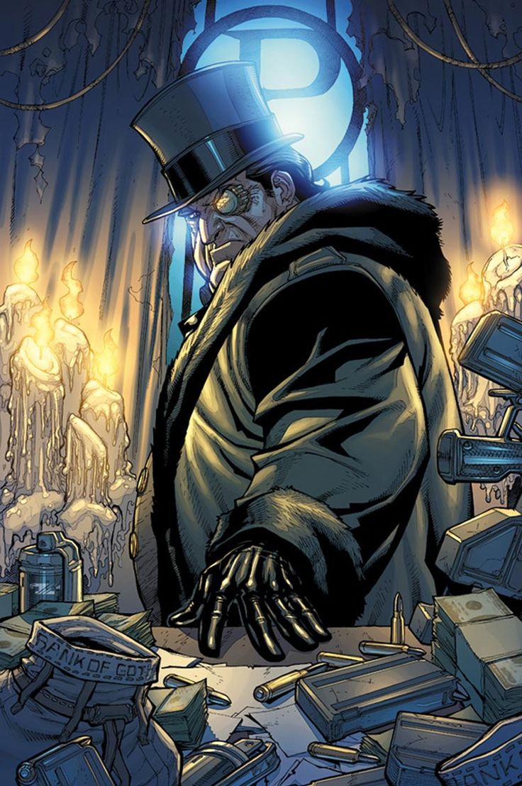 Batman: Arkham City - Penguin Comic Art