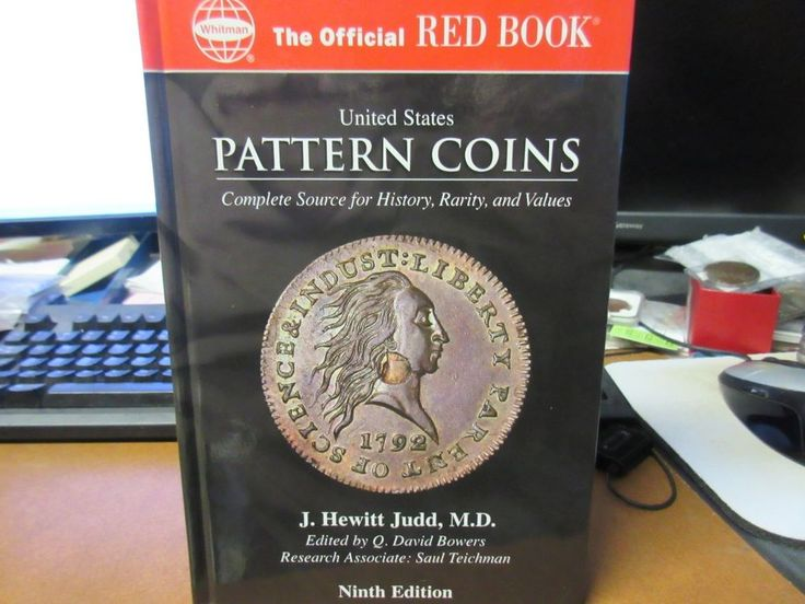 RedBook United States Pattern Coins J. Hewitt Judd, MD Ninth Edition