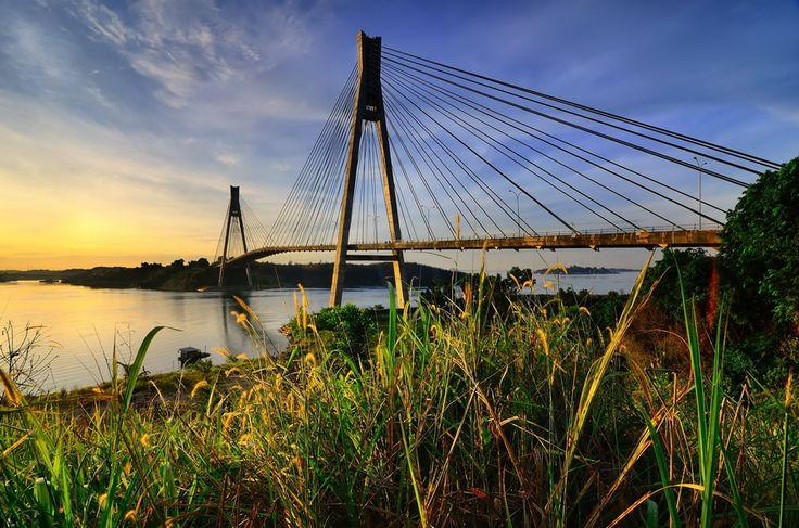 The Barelang Bridge (Batam)