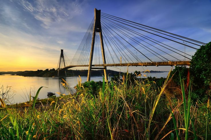 The Barelang Bridge (Batam)