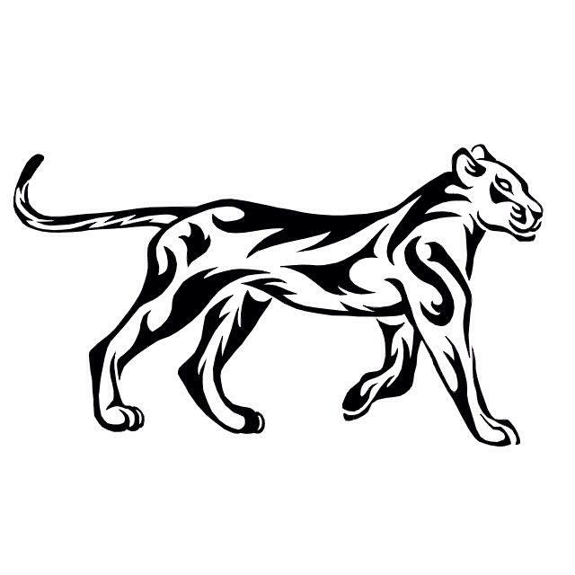 Cool lioness tattoo!