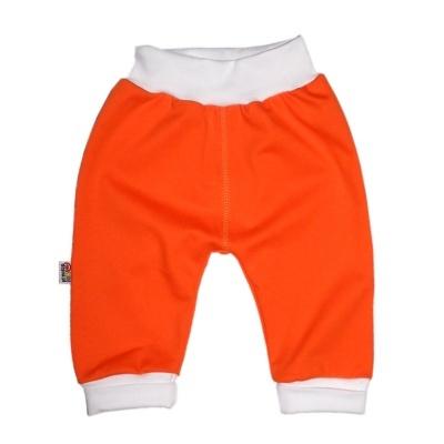 Pantalon orange en 100% coton pour bébé http://simedio.fr