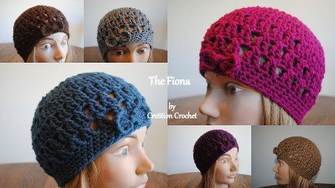 crochet hipster hat free pattern - maybe this one will be short enough to fit  on my head!