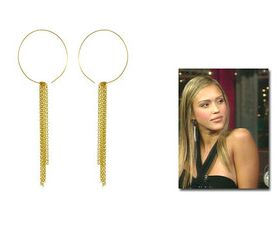 Jessica Alba is wearing by Boe earrings