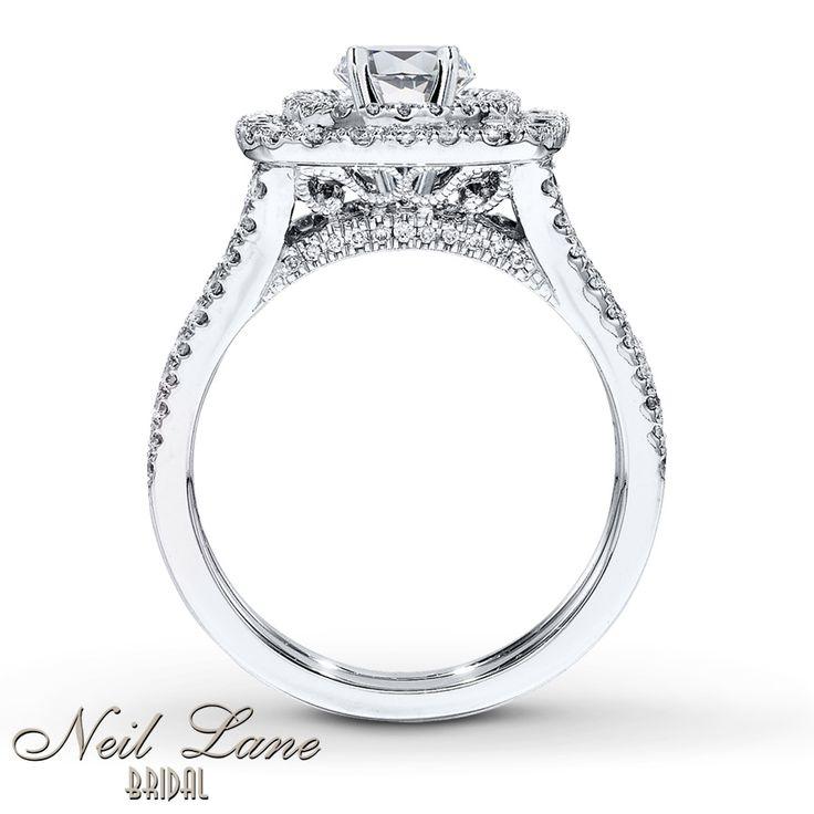 Jared - Neil Lane Bridal Setting 1 ct tw Diamonds 14K White Gold