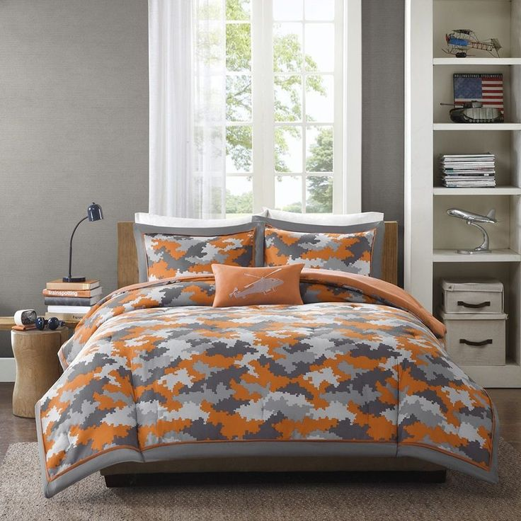 1000 Ideas About Grey Orange Bedroom On Pinterest: 1000+ Ideas About Grey Comforter Sets On Pinterest