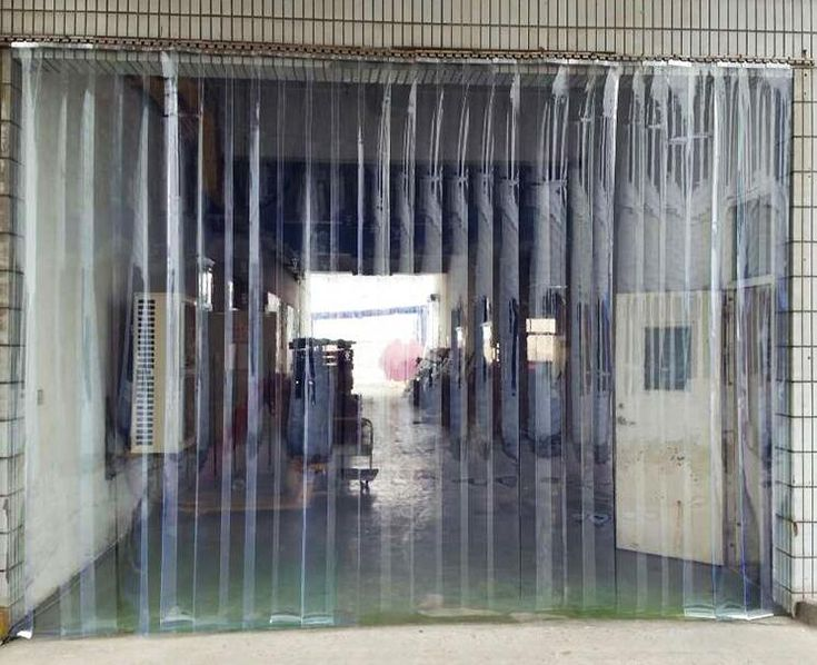 ==> [Free Shipping] Buy Best Air conditioning mosquito curtain transparent PVC plastic partition curtains fly windshield glass insulation curtain curtain sof Online with LOWEST Price | 32817248520