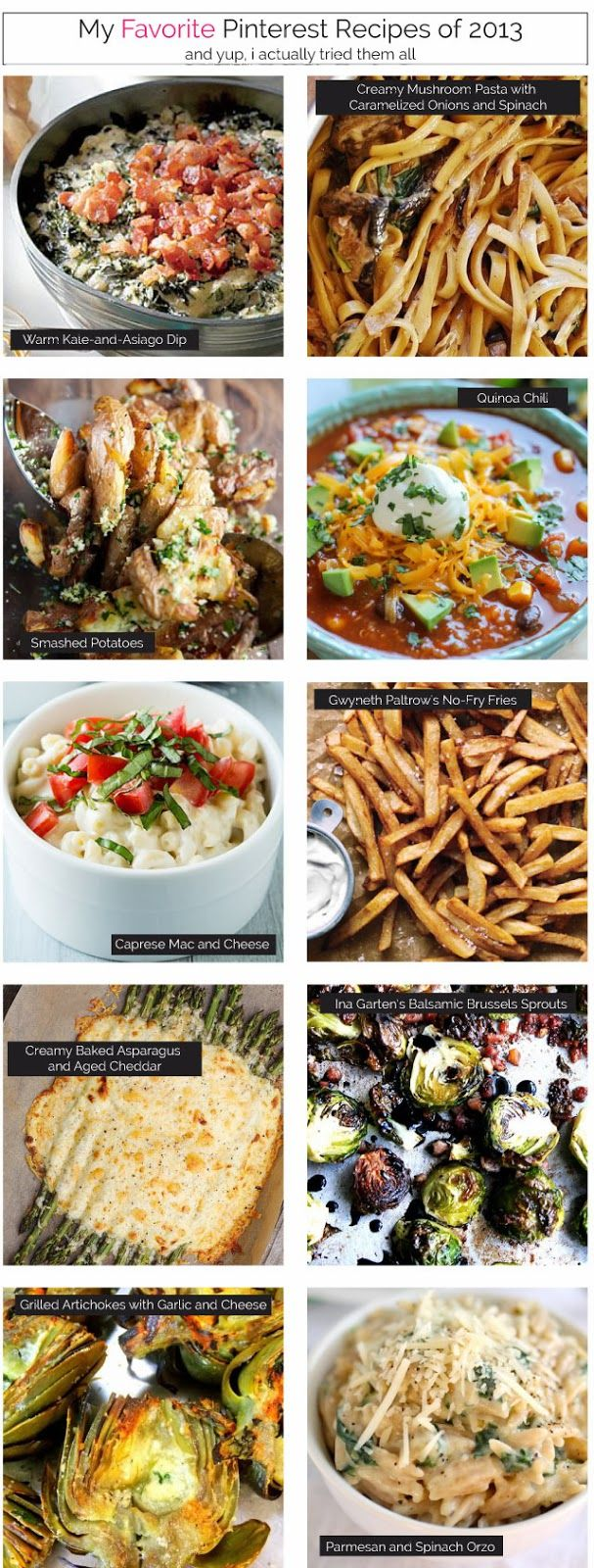 favorite pinterest recipes | i suwannee