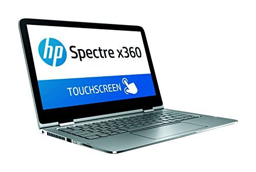 HP Spectre x360 13-4130nf PC Portable Tactile 2-en-1 Full HD 13″ Argent (Intel Core i5, 8 Go de RAM, SSD 128 Go, Windows 10): Écran tactile…