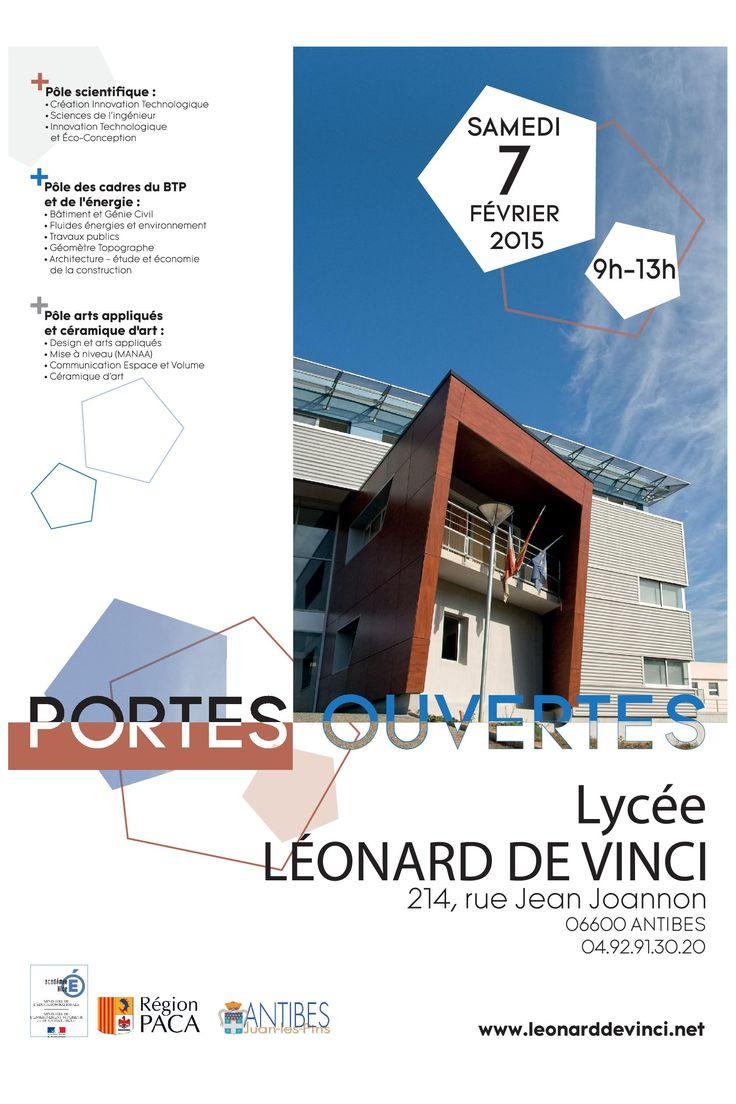Journées portes ouvertes | Lycée Léonard de Vinci