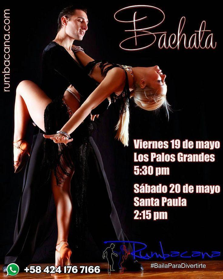 Aprende a Bailar #Bachata en dos horarios disponibles: Viernes 19 de mayo Los Palos Grandes - 5:30 pm ó Sábado 20 de mayo Santa Paula - 2:15 pm Infórmate por whatsapp 0424 176 7166 Invita un amigo al #SanoVicioDeBailar ... Ven y #BailaParaDivertirte #Bailar #Baile #Academia #Clases #ClasesDeBaile #ClaseDeBaile #Dance #Dancer #Rumba #RumbaCaracas #RumbaVenezuela #BailaVenezuela #BachataVenezuela #BachataSensual #ILoveBachata #Venezuela #Caracas #Miranda