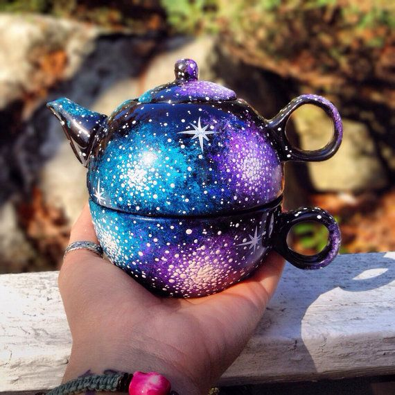 Hand painted one serving tea pot set                                                                                                                                                                                 More
