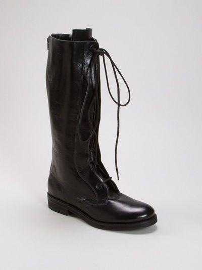 Bota rasteira de cano alto ::: Long no-heel boot ::: #UMAOutonoInverno14