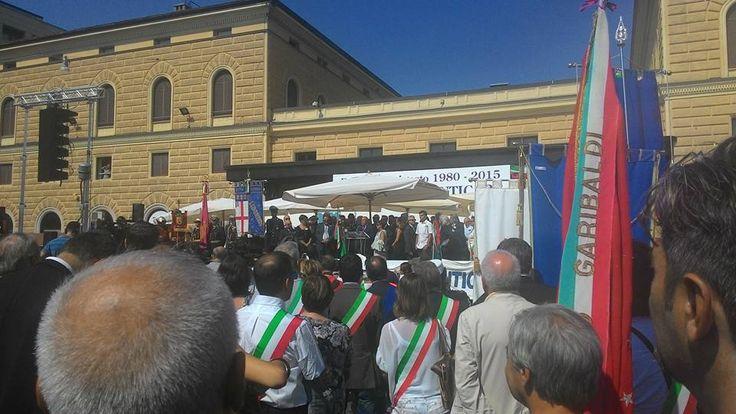 2 Agosto: Parma partecipa alla cerimonia per il 35° anniversario della strage alla stazione di Bologna.