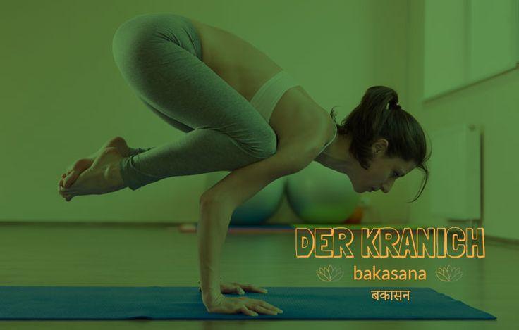 Bei dieser Yoga Übung hat man das Gefühl fliegen zu können. Mit der richtigen Ausübung stärkt Bakasana (Kranich) das Selbstvertrauen und macht richtig Spaß.