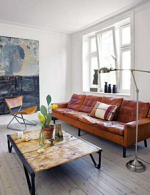 Die besten 25+ dunkler Holzboden Ideen auf Pinterest - wohnzimmer landhausstil braun