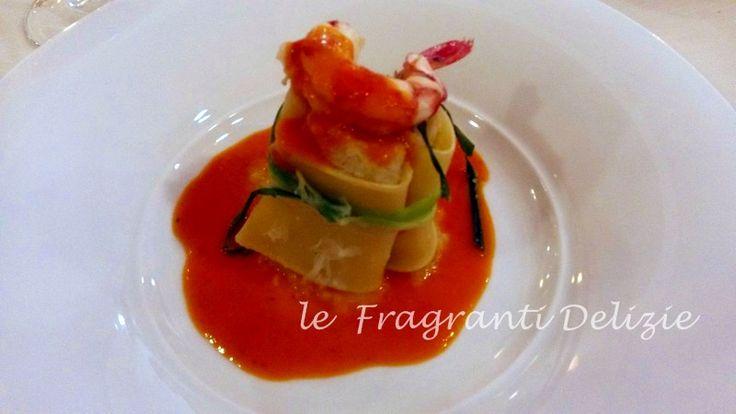 Paccheri+ripieni+con+filetti+di+persico
