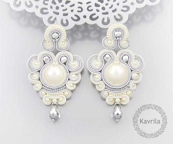 excellent silver soutache by Kavrila