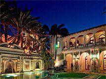 Beckham podría comprar la mansión de Versace