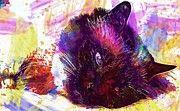 """New artwork for sale! - """" Cat Burmese Tired Lazy  by PixBreak Art """" - http://ift.tt/2fHGudl"""