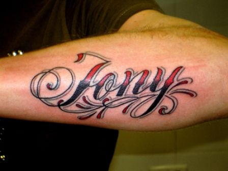 Script and Writing Tattoos-1 26