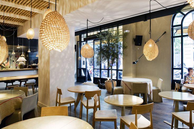 Luzia / Grupo Tragaluz / Sandra Tarruella interioristas, by Vogue  #luzia #barcelona #grupotragaluz