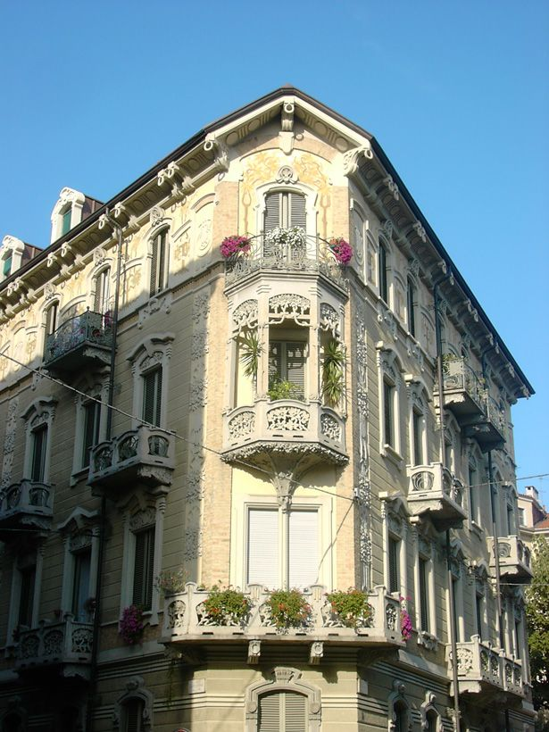 Torino Liberty: Casa Tasca in via Via Beaumont