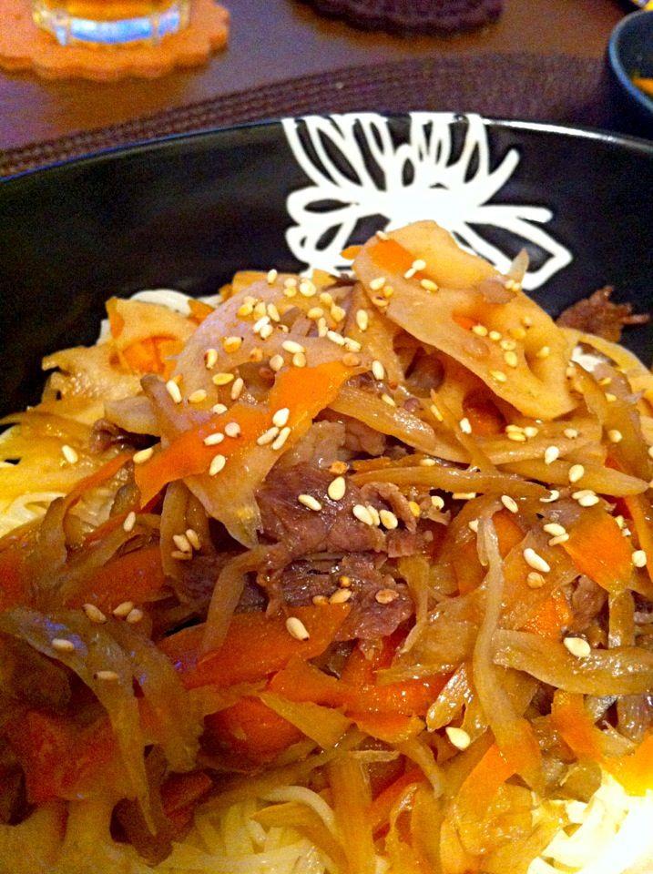 簡単れんこんと牛肉で作る料理レシピ25選