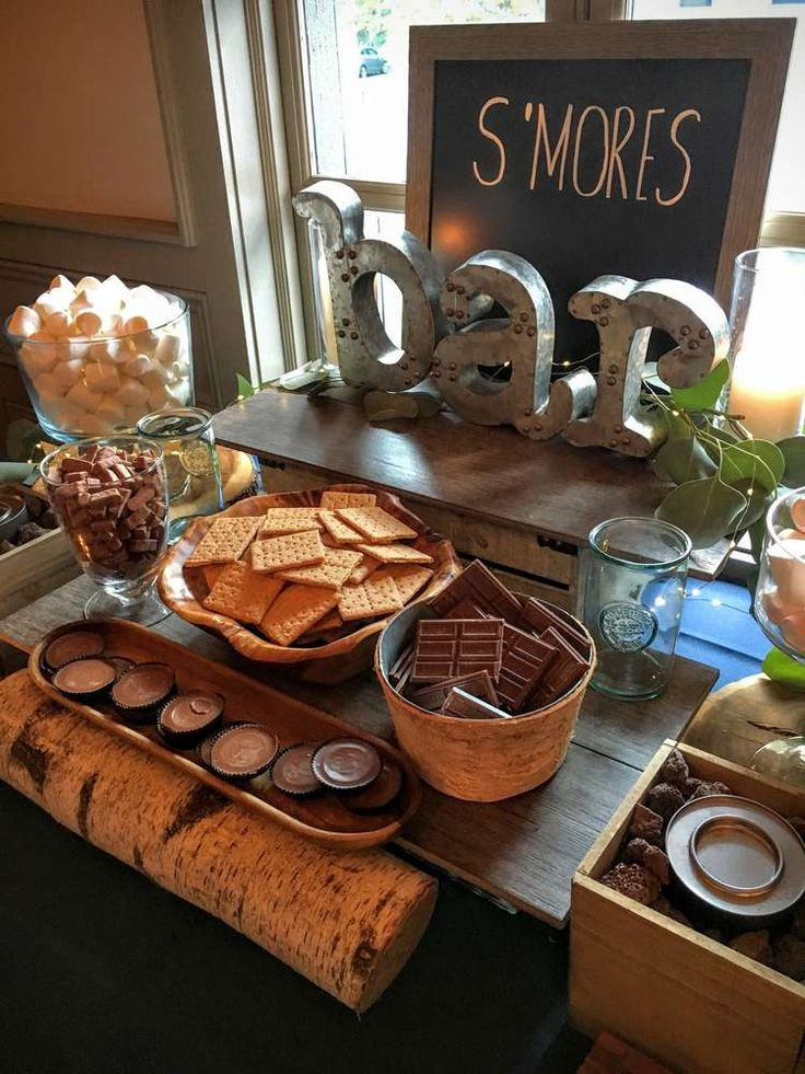 S'mores Bar, Stars, Twinkle Lights, Paper Lanterns, Starry Sips Sweet 16 Party Ideas | Photo 1 of 39