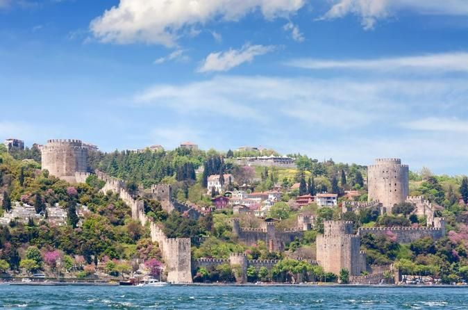 Istanbul Bosphorus and Two Continents Tour Discover the wonders of the Asian and European sides of Istanbul by land and sea on this full-day tour. In the morning, sail under the Bosphorus Bridge passing Ortaköy Mosque and Dolmabahçe Palace. After lunch (meal included), hop in a car to further explore both sides of the city. Discover quaint neighborhoods and learn the history of this fascinating city. Finally, cross the intercontinental Bosphorus Bridge to the Asian side where ...