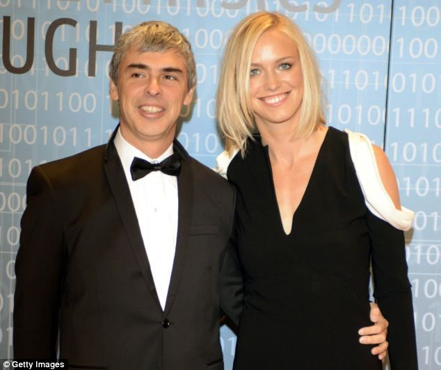 Lucy Southworth  wife of Google co-founder Larry Page
