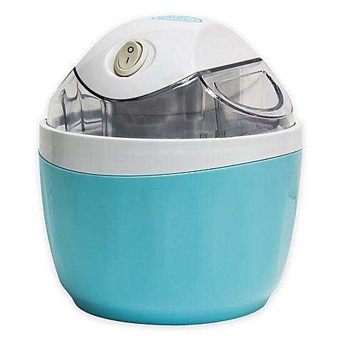 No contemporary kitchen is complete without the 1-Pint Electric Ice Cream Maker from Nostalgia Electrics. This easy-to-use at-home ice cream maker features an electric churner and a convenient ingredient chute so you can customize your creations.