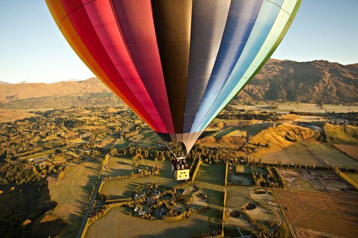 hot air balloon ride guided meditation
