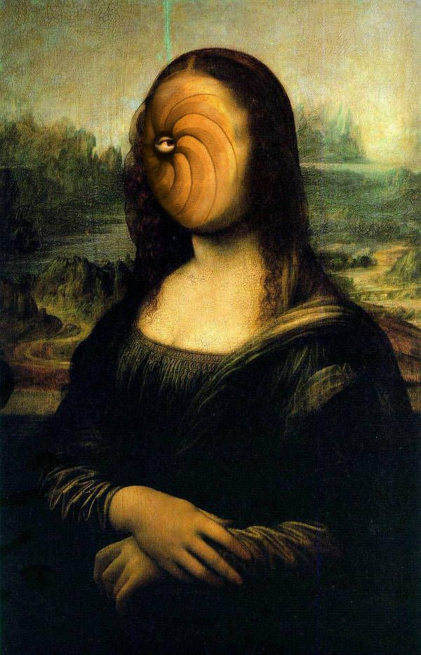 Monna Tobi By Bkgj Mona Lisa Parody Mona Friends Mona Lisa Smile