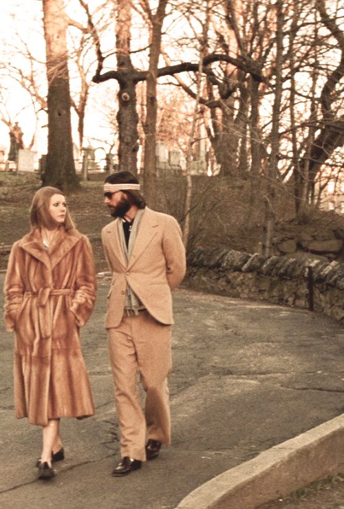 Classic couple: Margot & Richie Tenenbaum