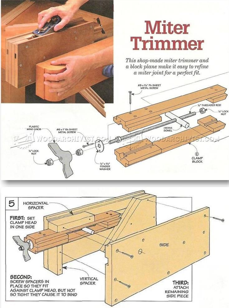 DIY Shooting Board - Joinery Tips, Jigs and Techniques   WoodArchivist.com