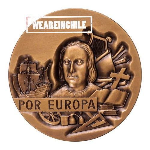 AMERICA POR EUROPA 1492 1992 DISCOVERY OF AMERICA COMMEMORATIVE COLON EUROPA