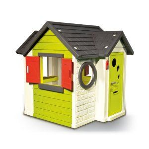 Smoby My House Playhouse - modern playhouse with doorbell