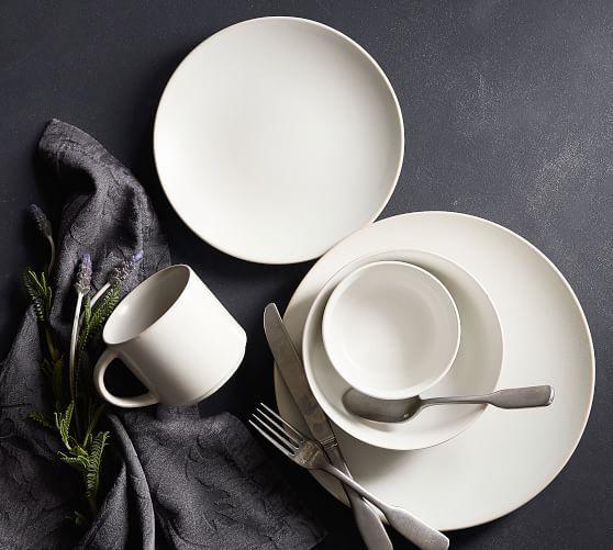 Mason 16-teiliges Geschirrset – Elfenbein   – Dinnerware